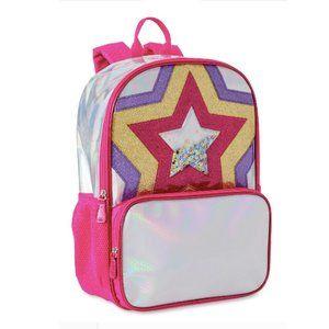 NEW🌸WONDER NATION Metallic Star Backpack